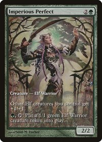 Imperious Perfect, Magic: The Gathering, Champs Promos