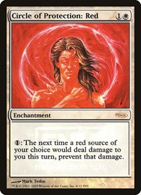 Circle of Protection: Red, Magic: The Gathering, FNM Promos
