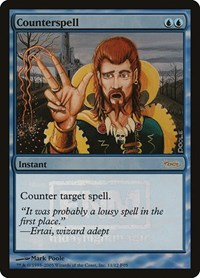 Counterspell, Magic: The Gathering, FNM Promos