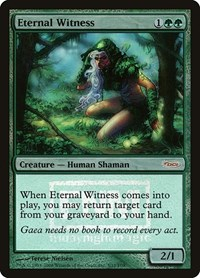 Eternal Witness, Magic: The Gathering, FNM Promos