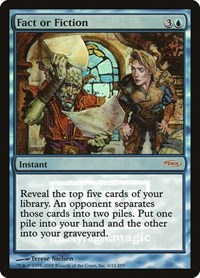 Fact or Fiction, Magic: The Gathering, FNM Promos