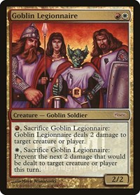 Goblin Legionnaire, Magic: The Gathering, FNM Promos