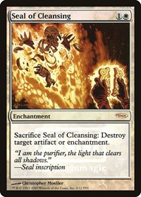 Seal of Cleansing, Magic, FNM Promos