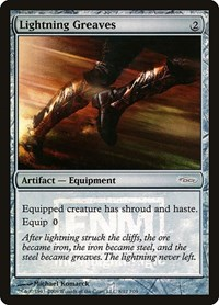 Lightning Greaves, Magic: The Gathering, FNM Promos