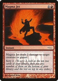 Magma Jet, Magic: The Gathering, FNM Promos