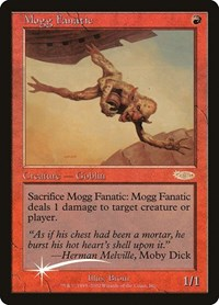 Mogg Fanatic, Magic: The Gathering, FNM Promos