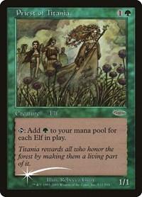 Priest of Titania, Magic: The Gathering, FNM Promos