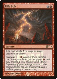 Rift Bolt, Magic: The Gathering, FNM Promos