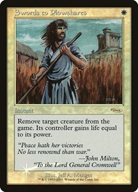 Swords to Plowshares, Magic: The Gathering, FNM Promos