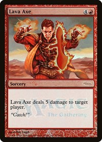 Lava Axe, Magic: The Gathering, WPN & Gateway Promos