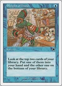 Sleight of Hand, Magic: The Gathering, Starter 1999