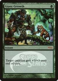 Giant Growth (Super Series), Magic: The Gathering, Junior Series Promos