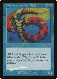 Lord of Atlantis, Magic: The Gathering, Junior Series Promos