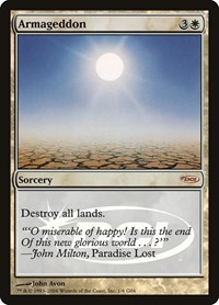 Armageddon, Magic: The Gathering, Judge Promos