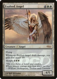 Exalted Angel, Magic: The Gathering, Judge Promos
