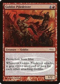 Goblin Piledriver, Magic: The Gathering, Judge Promos