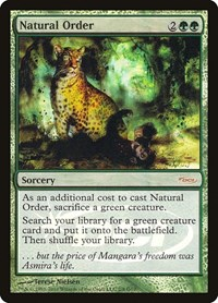 Natural Order, Magic: The Gathering, Judge Promos