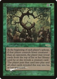 Oath of Druids, Magic: The Gathering, Judge Promos
