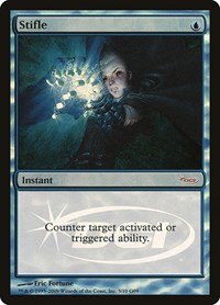 Stifle, Magic: The Gathering, Judge Promos