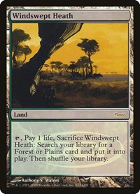 Windswept Heath, Magic, Judge Promos