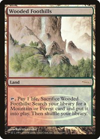 Wooded Foothills, Magic: The Gathering, Judge Promos