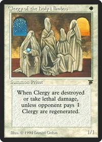 Clergy of the Holy Nimbus, Magic, Legends