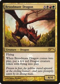 Broodmate Dragon, Magic: The Gathering, Media Promos
