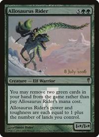 Allosaurus Rider, Magic: The Gathering, Prerelease Cards