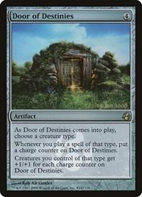 Door of Destinies, Magic: The Gathering, Prerelease Cards