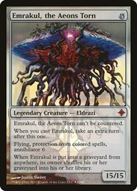Emrakul, the Aeons Torn, Magic, Prerelease Cards