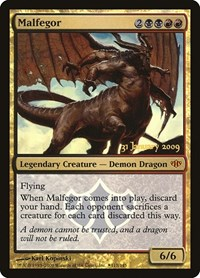Malfegor, Magic: The Gathering, Prerelease Cards