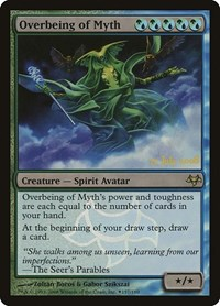 Overbeing of Myth, Magic: The Gathering, Prerelease Cards