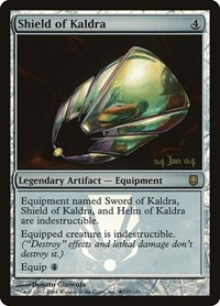 Shield of Kaldra, Magic: The Gathering, Prerelease Cards