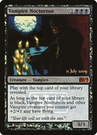 Vampire Nocturnus, Magic: The Gathering, Prerelease Cards