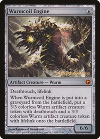 Wurmcoil Engine, Magic, Prerelease Cards