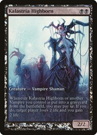 Kalastria Highborn, Magic, Game Day & Store Championship Promos