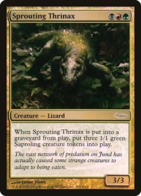 Sprouting Thrinax, Magic: The Gathering, WPN & Gateway Promos