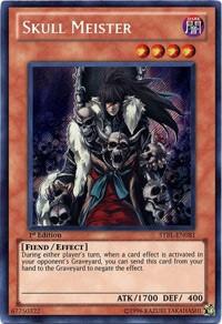 Skull Meister, YuGiOh, Starstrike Blast