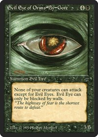 Evil Eye of Orms-By-Gore, Magic, Legends