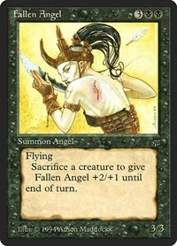 Fallen Angel, Magic, Legends