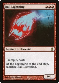 Ball Lightning, Magic: The Gathering, Premium Deck Series: Fire and Lightning