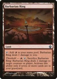 Barbarian Ring, Magic: The Gathering, Premium Deck Series: Fire and Lightning
