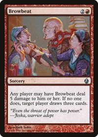 Browbeat, Magic: The Gathering, Premium Deck Series: Fire and Lightning