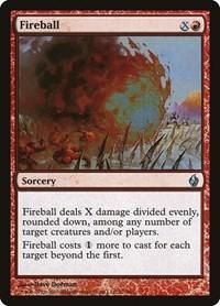 Fireball, Magic: The Gathering, Premium Deck Series: Fire and Lightning