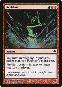 Fireblast, Magic: The Gathering, Premium Deck Series: Fire and Lightning