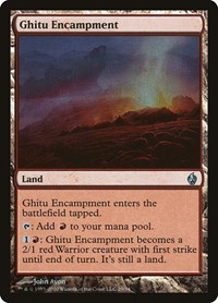 Ghitu Encampment, Magic: The Gathering, Premium Deck Series: Fire and Lightning