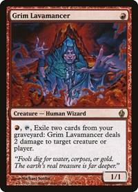 Grim Lavamancer, Magic, Premium Deck Series: Fire and Lightning