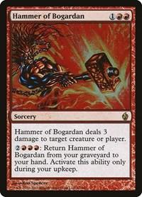 Hammer of Bogardan, Magic: The Gathering, Premium Deck Series: Fire and Lightning