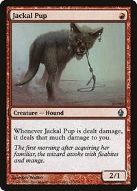 Jackal Pup, Magic: The Gathering, Premium Deck Series: Fire and Lightning