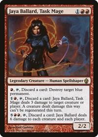 Jaya Ballard, Task Mage, Magic: The Gathering, Premium Deck Series: Fire and Lightning
